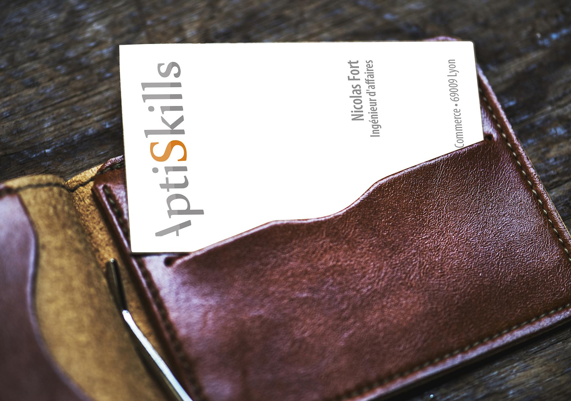 Cartes de visite Aptiskills
